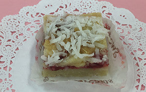 Raspberry Coconut Bar