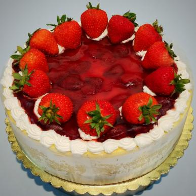 Strawberry Cheese Cake Sweet Dreams Bakery