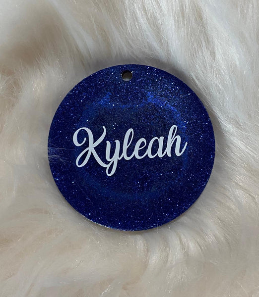 Cheer Athletics Key Chain - Glitter