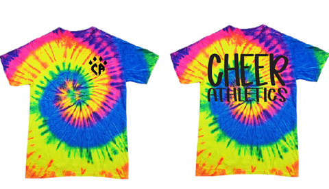 Cheer Athletics Neon Rainbow Tee