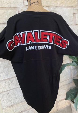 Cavalettes Game Day Sparkly Jersey