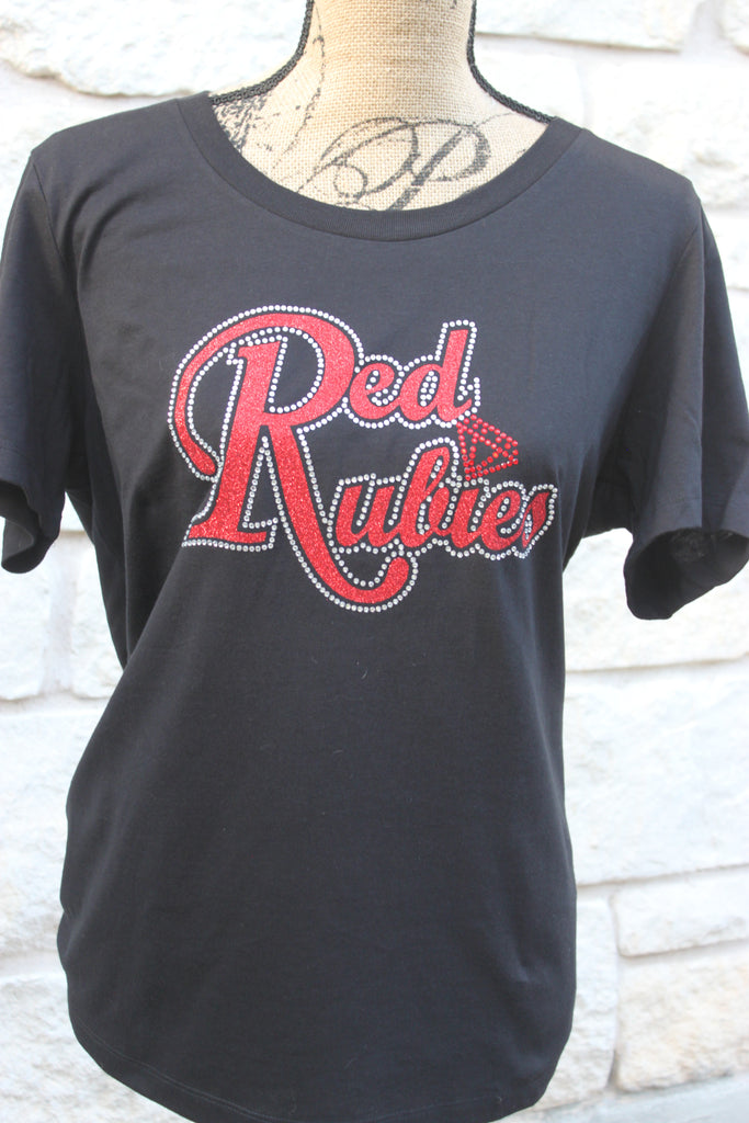 Red Rubies Bling Tee