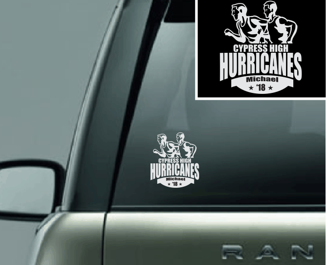 """Runners"" Track Vinyl Decal"