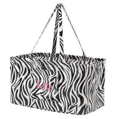 Zebra Carry All Tote Bag