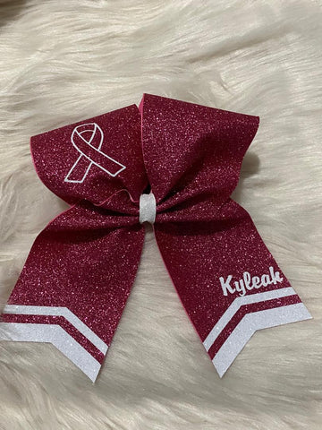 Pink Cheer BOW