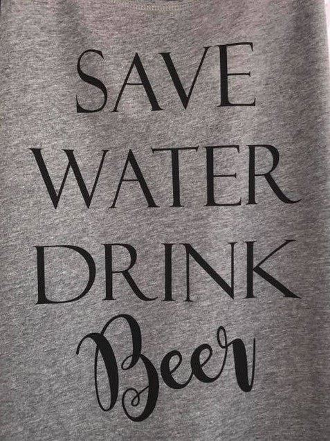 Save Water Drink ....