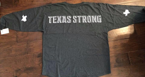 Texas Strong Over Sized Spirit Jersey