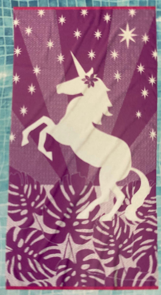 Unicorn Youth Beach Towel