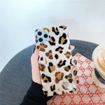 Cute Leopard Soft Silicone Phone Case For iPhone 11 Series