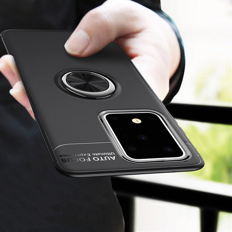 Metal Finger Ring Case For Samsung Galaxy S20/S20 Plus/S20 Ultra