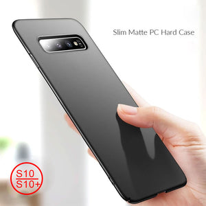 Slim Hard PC Matte Case for Samsung Galaxy S10/S10+