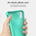Liquid Silicone Soft Shockproof Case for Samsung Note 10  / Note 10 Plus