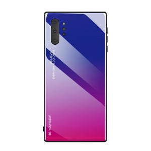Gradient Tempered Glass Case For Samsung Galaxy Note 10/ Note 10 Plus