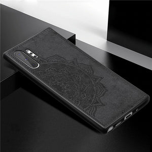 Magnetic Shockproof Fabric Case For Samsung Note 10 Series