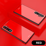 Fashion Tempered Glass Phone Case For Samsung Note 10 Series