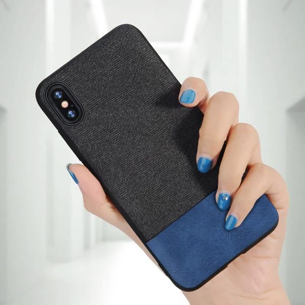 Luxury Fabric Protective Case For iPhone XR/XS/XS Max