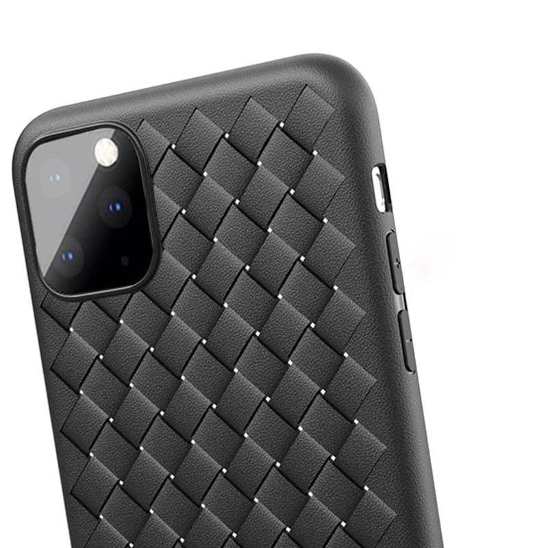 Grid Weaving Slim Soft Protective Case for iPhone 11/11 Pro/11 Pro Max