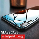 9H Tempered Glass Case with Silicone Frame For Huawei P20/Lite/Pro/Nova 3e