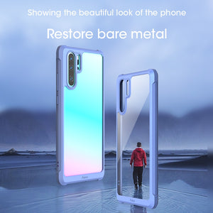 Bumper Shockproof Transparent Case For Huawei