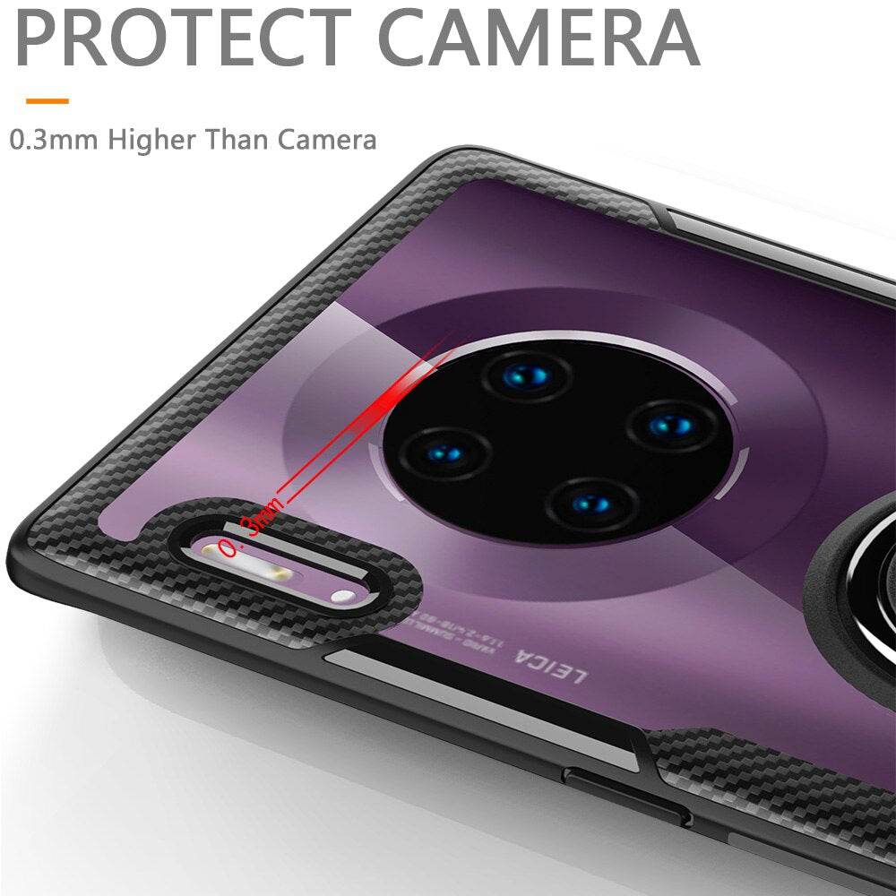 Magnetic Car Holder Case For Huawei Mate 30/ Mate 30 Pro