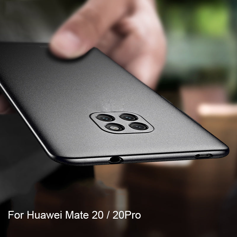 Ultra Slim Matte Protective Soft Silicone Case For Huawei Mate 20 / Mate 20 Pro