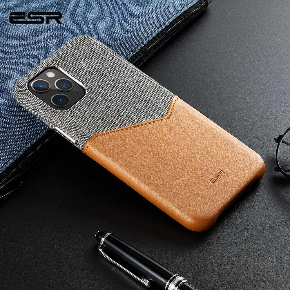 Luxury Leather Wallet Case for iPhone 11 Series