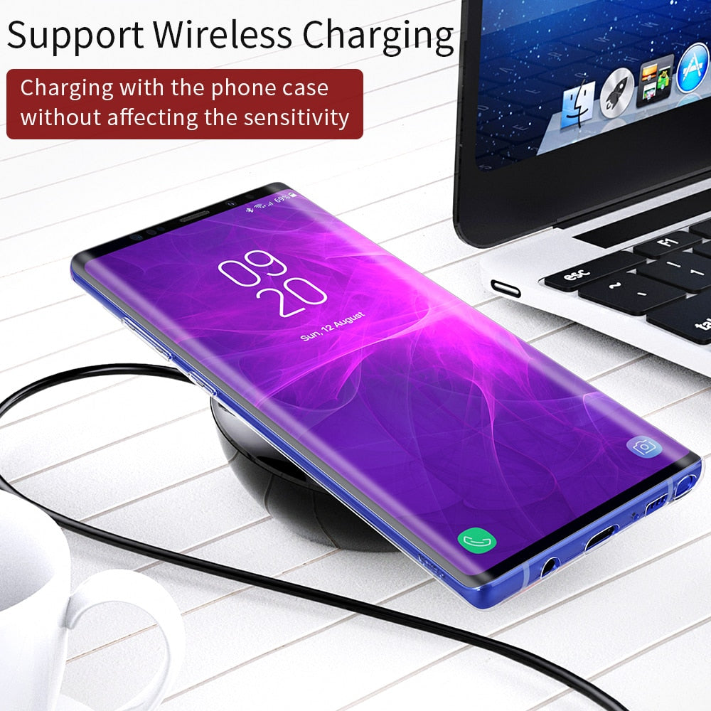 Transparent Soft Silicone Case For Samsung Galaxy Note 9