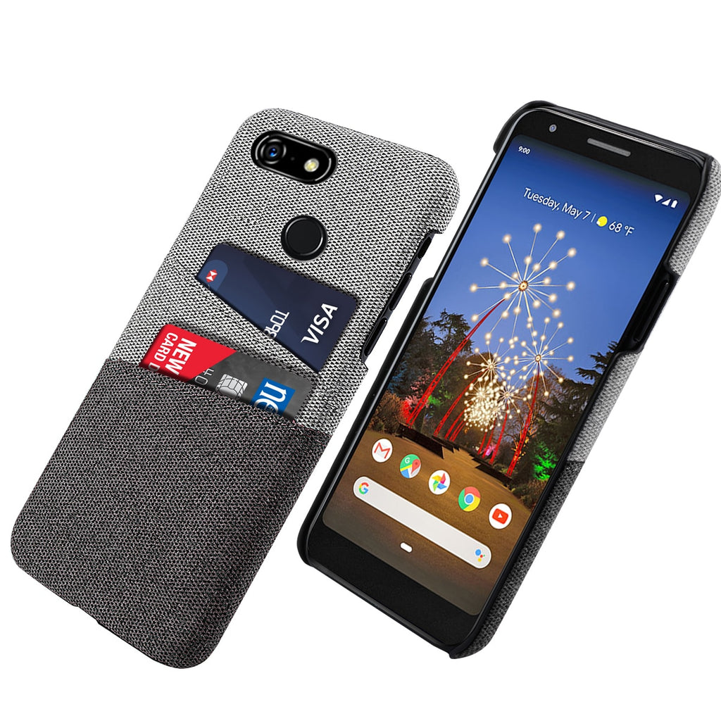 Fabric Cards Holder Case For Google Pixel 3 / 3XL