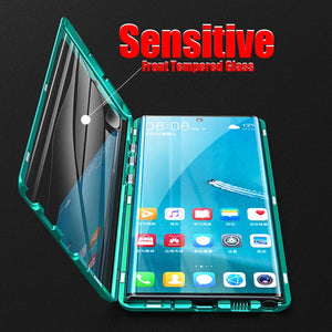 Magnetic Metal Frame 360 Full Protection Case For Samsung Galaxy Note 10/ Note 10 Plus