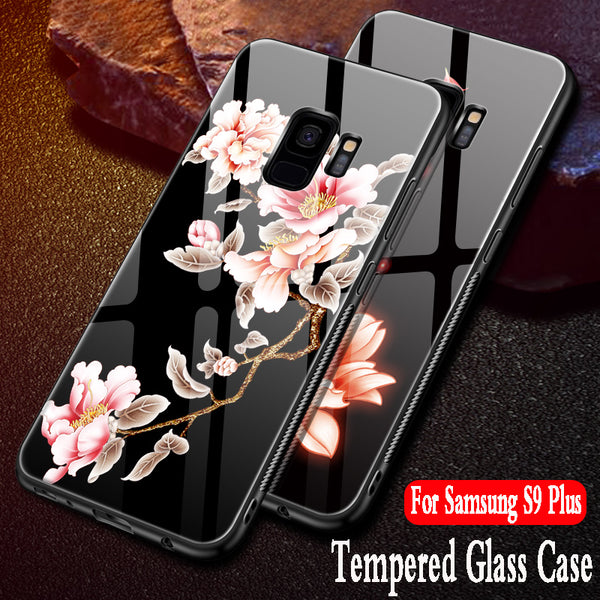 super popular 5479c 86775 Luxury Tempered Glass 3D Case For Samsung Galaxy S9 Plus