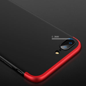 360 Full Protection 3 In 1 Ultra Thin Hard Case For iPhone 8/8 Plus
