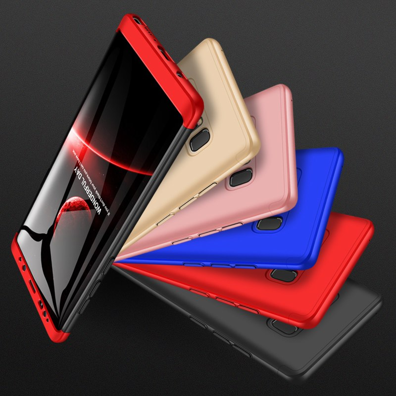 360 Full Protection 3-in-1 Ultra Thin Hard Case For Samsung Note 8