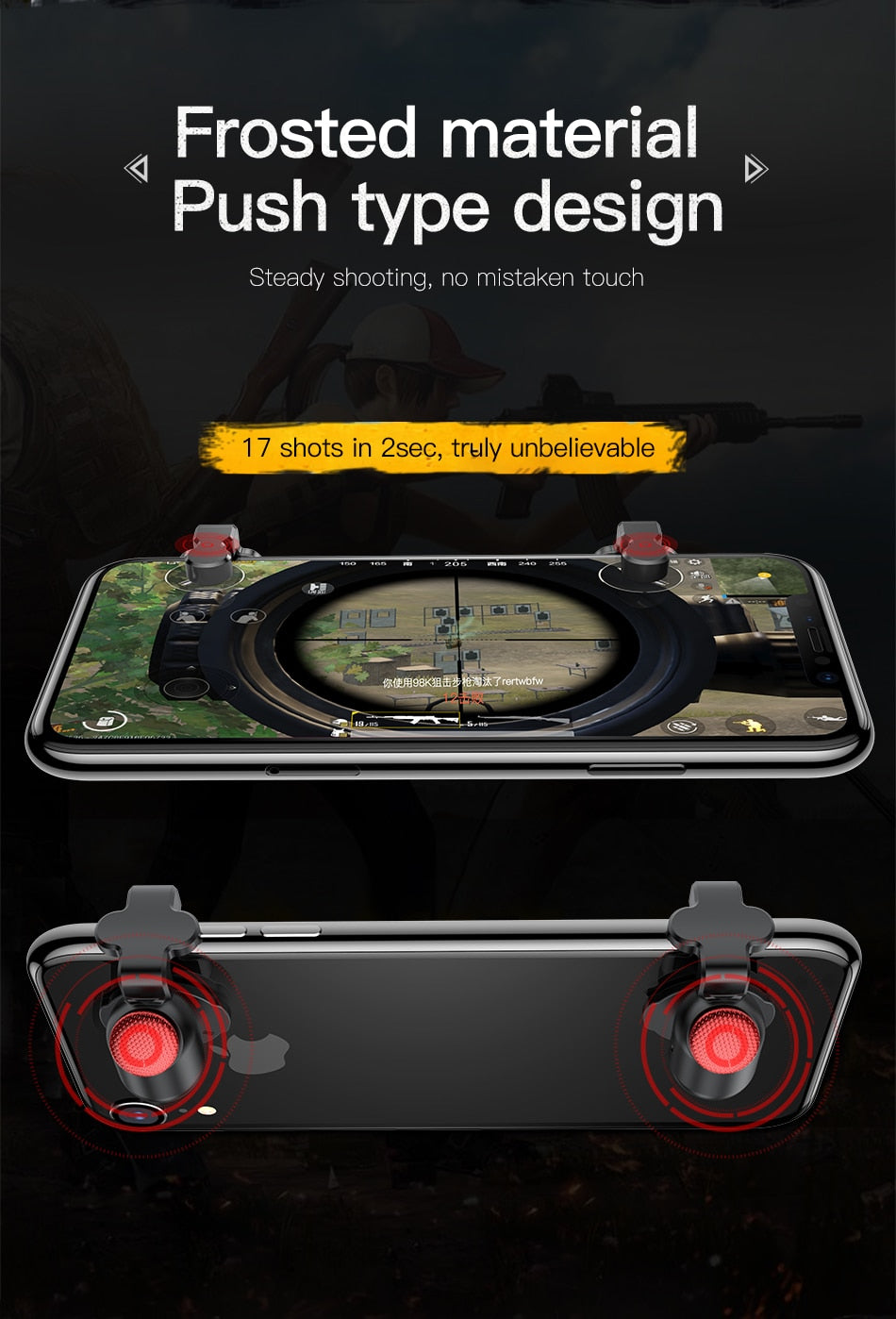 Gamepad Joystick For PUBG