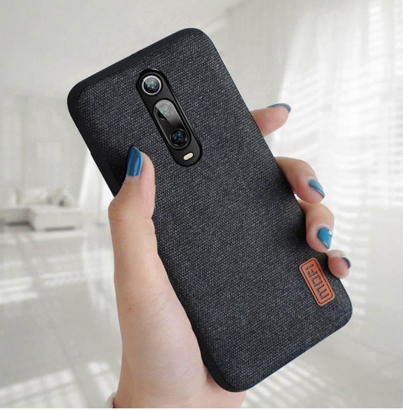 Luxury Fabric Phone Case For Xiaomi Mi 9T/ 9T Pro
