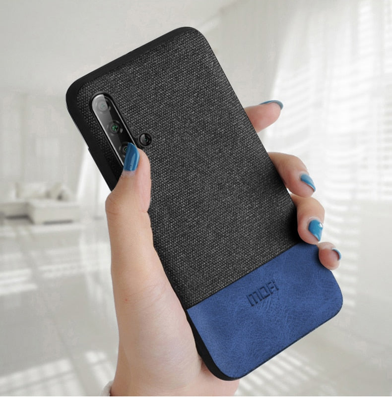 Luxury Fabric Case for Honor 20/ Honor 20 Pro