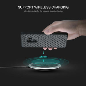 Luxury Grid Weaving Case For Samsung Galaxy S9 / S9 Plus