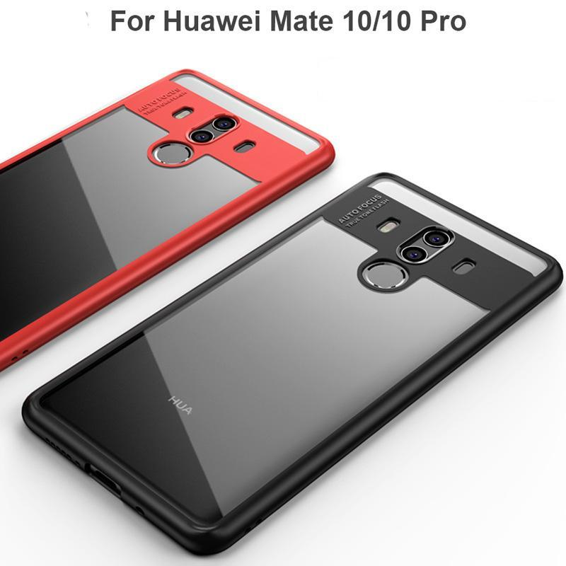 Original Ultra Thin Shockproof Protective Back Cover For Huawei Mate 10 / Mate 10 Pro