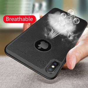 Hollow Heat Dissipation Slim Cases for iPhone 11/11 Pro/11 Pro Max
