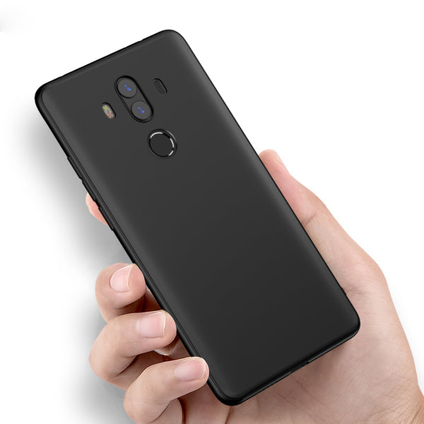 best sneakers e95e0 78906 Ultra Thin Soft Matte Silicone Back Case For Huawei Mate 10 Pro