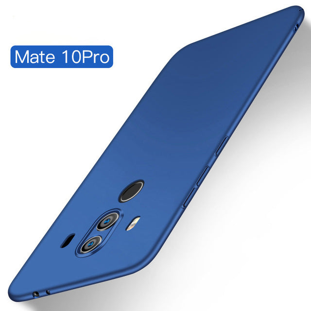 Ultra Thin Soft Matte Silicone Back Case For Huawei Mate 10 Pro