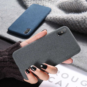 Ultra Thin Soft Cloth Case For iPhone 11/ 11 Pro/ 11 Pro Max