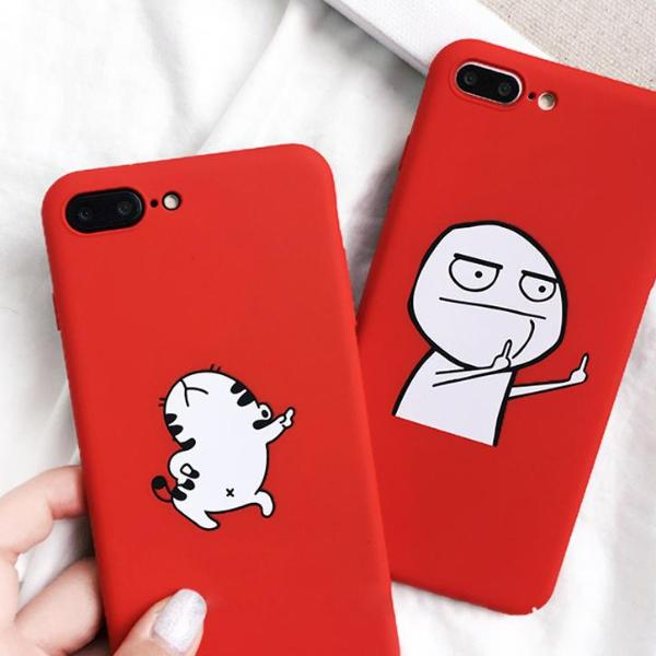 Funny Cartoon Phone Case For iPhone