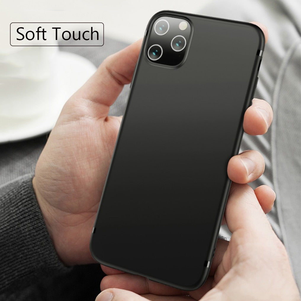 Luxury Business Slim Soft Back Cover For iPhone 11/11 Pro/11 Pro Max