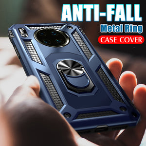 Luxury Armor Metal Ring Holder Case For Huawei Mate 30/ Mate 30 Pro