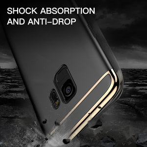Luxury 3-In-1 Hybrid Case For Samsung Galaxy S9/S9 Plus