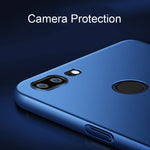 360 Protection Slim Matte PC Hard Back Cover for Oneplus 5T