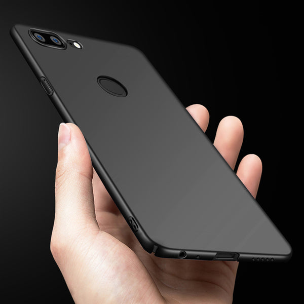 super popular 01229 cec25 360 Protection Slim Matte PC Hard Back Cover for Oneplus 5T