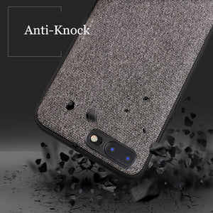 Luxury Fabric Case For iPhone 8/8 Plus