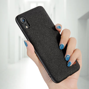 Luxury Fabric Case For iPhone XR/XS/XS MAX