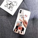 Lovely Minnie Mouse Mirror Case For iPhone